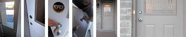 Door installation project