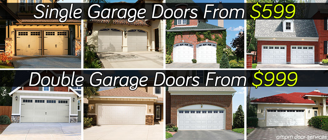 Garage door catalog