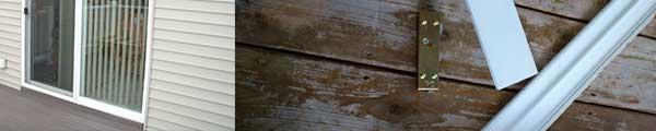 Sliding door track